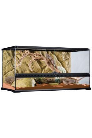 Exo Terra Glass Terrarium Large/Wide - 90cm x 45cm x 45cm (PT2613)