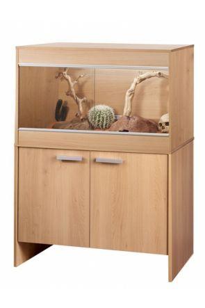 Vivexotic Reptihome Maxi Viv & Cabinet Beech (PT4083 / PT4040)