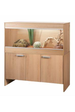 Vivexotic Reptihome Vivarium & Cabinet Maxi Large - Beech (PT4086 / PT4043)