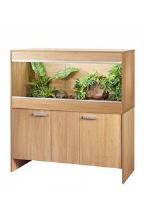 Vivexotic Reptihome Vivarium & Cabinet Maxi Large - Oak (PT4087 / PT4041)