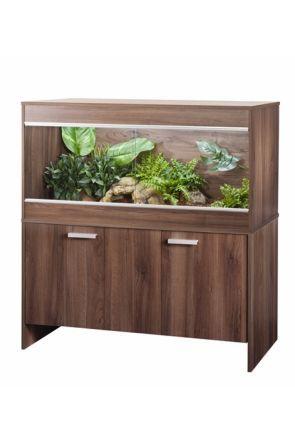 Vivexotic Reptihome Vivarium & Cabinet Maxi Large - Oak (PT4088 / PT4042)