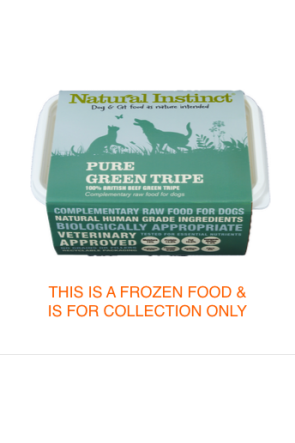 Natural Instinct Pure  Green Tripe 1kg