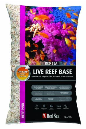 Red Sea Reef Base - Live Sand Fiji Pink 10kg
