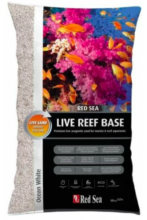 Red Sea Reef Base - Live Ocean White 10kg
