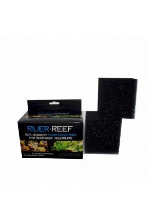 Interpet River Reef 48 - Foam Filter Pads x2