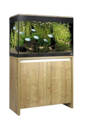 Fluval Roma 125 LED Aquarium & Cabinet (Oak)