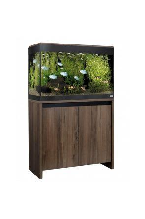 Fluval Roma 125 LED Aquarium & Cabinet (Walnut)