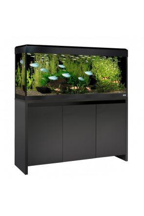 Fluval Roma 240 LED Aquarium & Cabinet (Black)