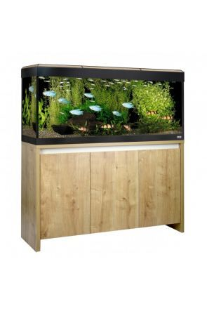 Fluval Roma 240 LED Aquarium & Cabinet (Oak)