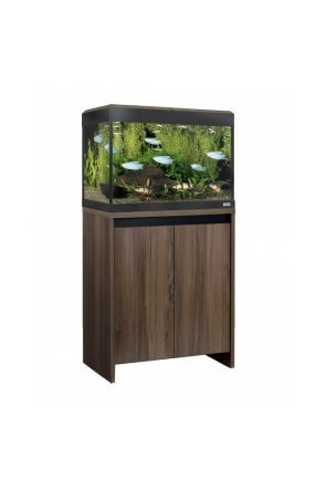 Fluval Roma 90 LED Aquarium & Cabinet (Walnut)