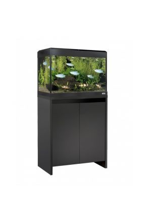 Fluval Roma 90 LED Aquarium & Cabinet (Black)