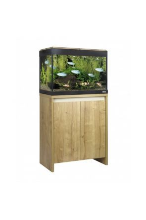 Fluval Roma 90 LED Aquarium & Cabinet (Oak)