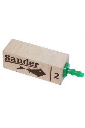 Sander No.2 Wooden Airstone (5350)