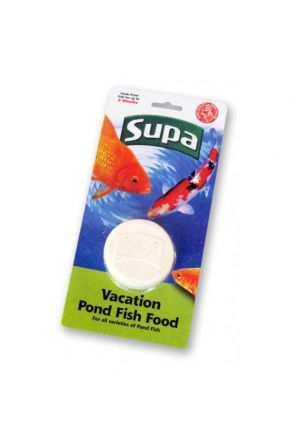 Supa Pond Vacation Fish Food Block