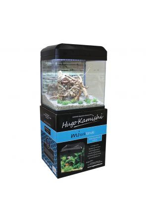 Hugo KamishiTanuki Aquarium - 16L (Black)