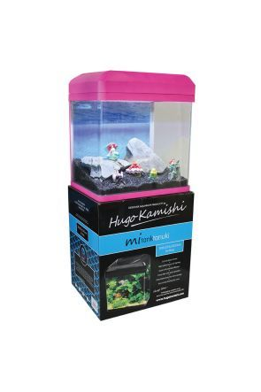 Hugo KamishiTanuki Aquarium - 16L (Pink)