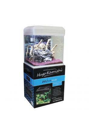 Hugo KamishiTanuki Aquarium - 16L (White)