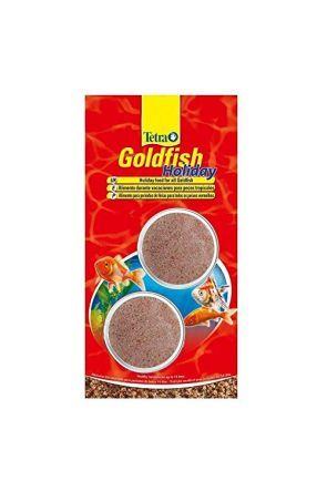 etra Goldfish 14 Day Holiday food blocks