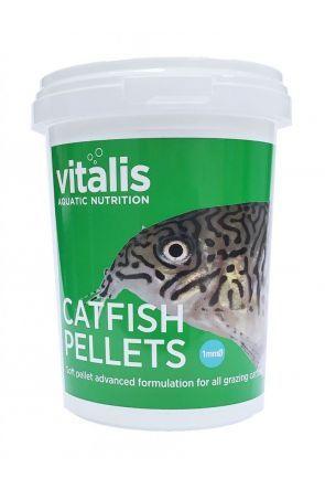 Vitalis Catfish Pellets 1mm - 260g tub