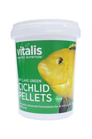 Vitalis Rift Lake Cichlid Pellets Green 260g S (1.5mm)