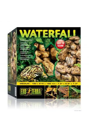 Exo Terra Natural Pebble Waterfall Medium
