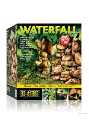 Exo Terra Natural Pebble Waterfall Small