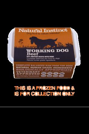 Natural Instinct Working Beef 1kg