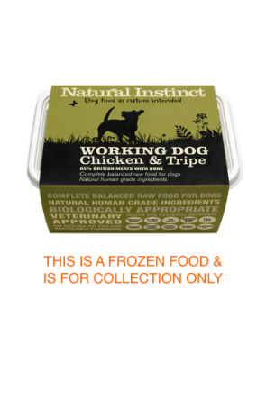 Natural Instinct Working Dog Tripe & Chicken