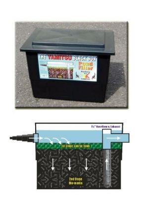 Yamitsu Pond Filter Black Box 800gal 3000ltr